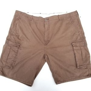 Levi's Mens W48 White Tab Brown Cargo Shorts